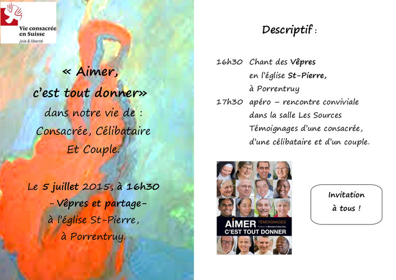 Flyer 5 juillet 2015 - Porrentruy