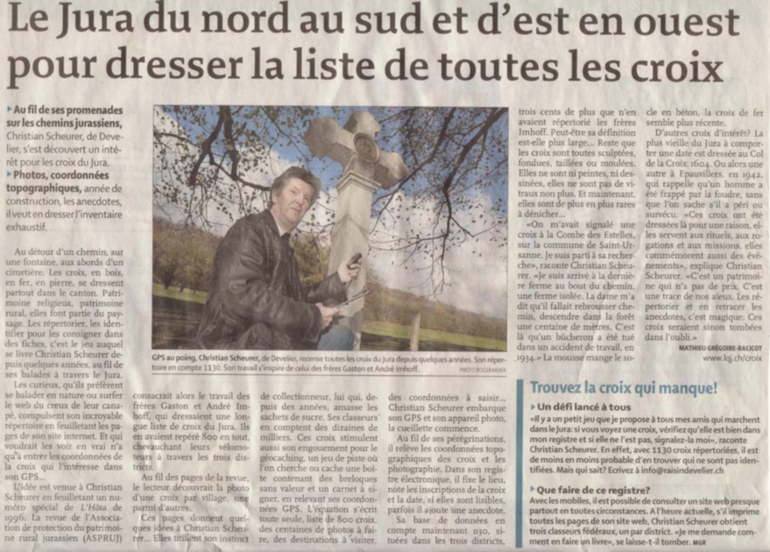 Article Quotidien Jurassien